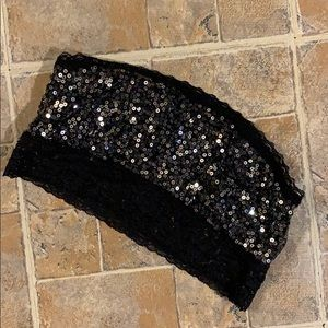 Victoria's Secret Pink sequin bandeau size small